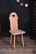 アンティーク 剥離 チェア ダイニング 飾り フレンチ 椅子 2