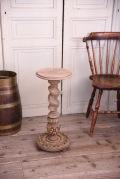 アンティーク フレンチ 剥離 フラワースタンド 花台 サイドテーブル