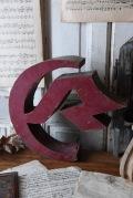 メタル アルファベット