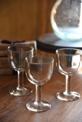 アンティーク  ワイングラス  ガラス  フランス