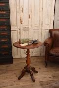 アンティーク  テーブル  ラウンド  ホールディングテーブル  ワインテーブル  フランス