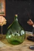 アンティーク ワインボトル ぽってり 緑