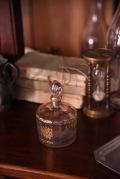 アンティーク フレンチ 金彩 ガラスポット 保存瓶