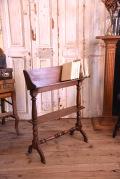 ブックスタンド 脚付き 木製 フランス アンティーク