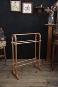 タオルラック 木製 フランス アンティーク