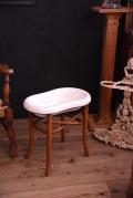 ベビーバス 磁器 木製 洗面台 フランス アンティーク