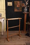 タオルラック 木製 アンティーク フランス
