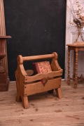 アンティーク 木製ブックスタンド ブックケース 無垢 フレンチ
