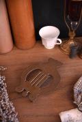アンティーク 真鍮 鍋敷き トリベット フレンチ