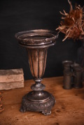 アンティーク フラワースタンド シルバー フレンチ 花瓶