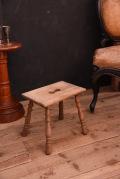 アンティーク スツール フレンチ 無垢 木製
