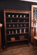 アンティーク ブックケース 本棚 フレンチ 木製