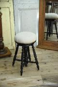 ピアノスツール フラック 椅子 フランス アンティーク