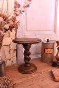 アンティーク 木製 台座 ディスプレイ台 フランス