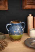 アンティーク 陶器ポット フランス 花瓶 フラワーポット