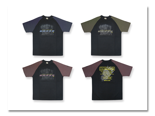 Tシャツ ラグラン 熊出没 2000