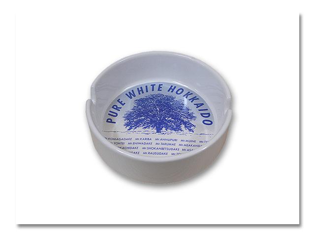 陶器灰皿 ニレの木