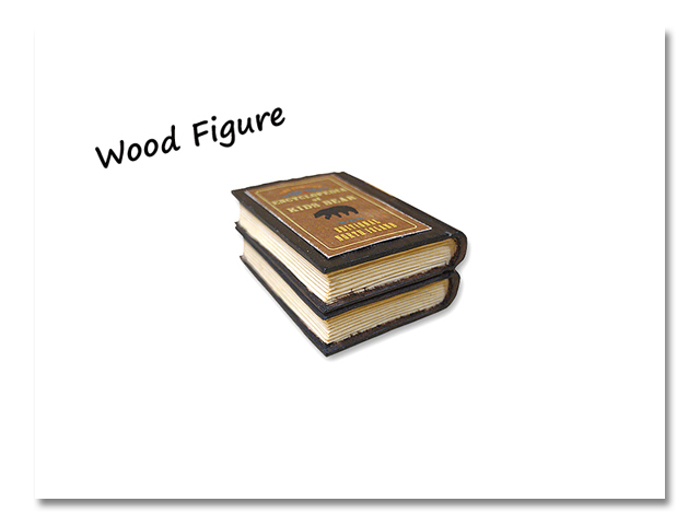 小熊出没 WOOD BOOKS 2冊