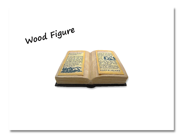 小熊出没 WOOD BOOKS 両開き
