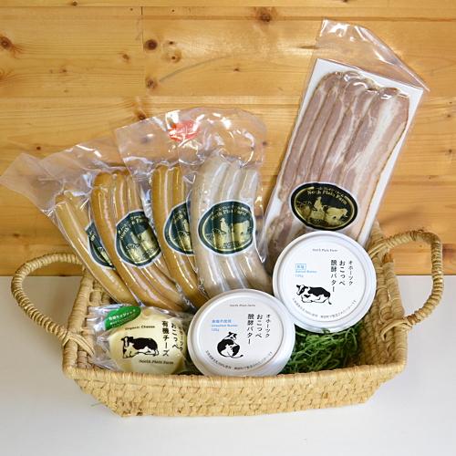 【ギフトセットC】肉製品と醗酵バター・チーズセット
