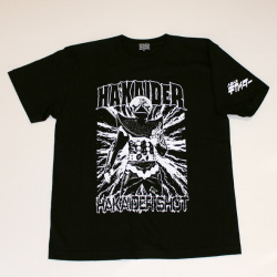 ハカイダーTシャツ(ブラック)