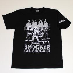 仮面ライダー「幹部怪人」s/sTシャツ(ブラック)