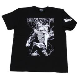 仮面ライダーストロンガ—「スパーク」Tシャツ(ブラック)