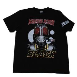 仮面ライダーBLACK「フェイス」Tシャツ(ブラック)