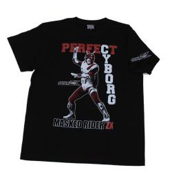 仮面ライダーZX「パーフェクトサイボーグ」Tシャツ(ブラック)