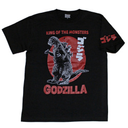 ゴジラ「初代ゴジラ」Tシャツ(ブラック)