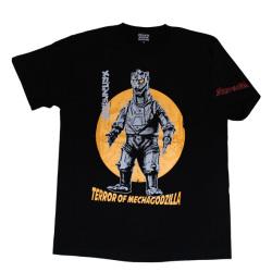ゴジラ「メカゴジラの逆襲」Tシャツ(ブラック)