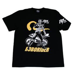 ★【予約商品11月下旬発売予定】仮面ライダーBLACK RX「ロボライダー」Tシャツ(ブラック)