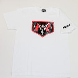 仮面ライダー「ライダーマーク」S/STシャツ(ホワイト)