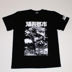 爆裂都市(バトルカー)S/S Tシャツ(ブラック)