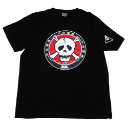 不良番長「カポネ団マーク」Tシャツ(ブラック)
