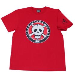 不良番長「カポネ団マーク」Tシャツ(レッド)