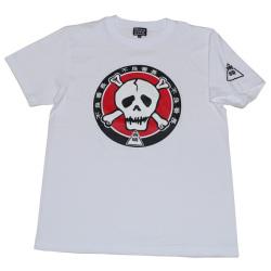 不良番長「カポネ団マーク」Tシャツ(ホワイト)