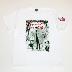 「仁義なき戦い」頂上作戦イラストS/STシャツ(ホワイト)