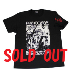 仁義なき戦い(PROXY WAR?)S/STシャツ(ブラック)