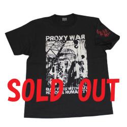 仁義なき戦い(PROXY WAR?)S/STシャツ(ダークグレー)