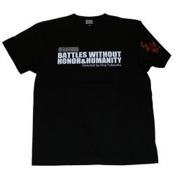 仁義なき戦い(シリーズ)S/S Tシャツ(ブラック)