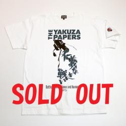 「仁義なき戦い」s/sTシャツ(THE YAKUZA PAPERS WHxblu)