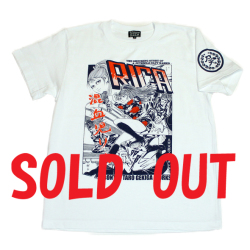 混血児リカ(RICA)S/S Tシャツ(ホワイト)
