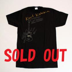 ロックTシャツ/KURT COBAIN(LEFT HANDED)/カートコバーン(レフトハンデッド)RCT121103