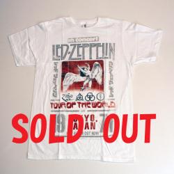 ロックTシャツ/LED ZEPPELIN(TOKYO 71)レッドツェッペリン(トーキョー71)RCT121104