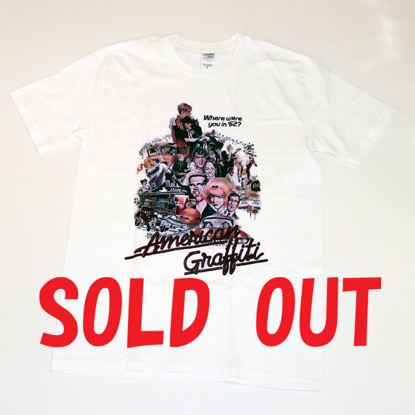 AMERICAN GRAFFITI T-SHIRTS(アメリカングラフィティTシャツ)