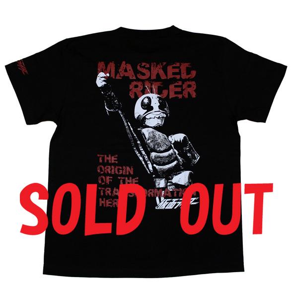 仮面ライダー「MASKED RIDER」Tシャツ(ブラック)