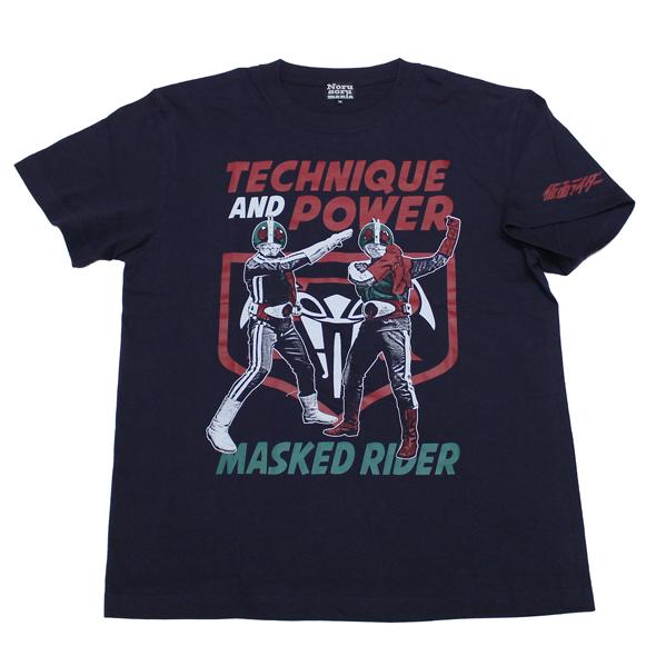仮面ライダー(ダブルライダー)Tシャツ(ネイビー)
