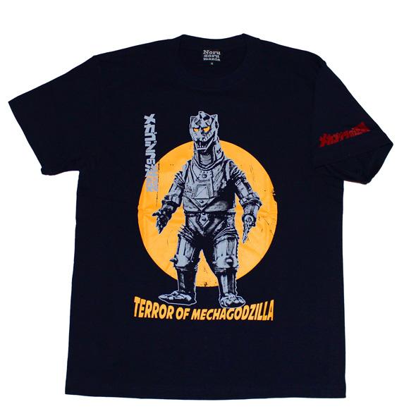 ★【予約商品11月中旬発売予定】ゴジラ「メカゴジラの逆襲」Tシャツ(ネイビー)