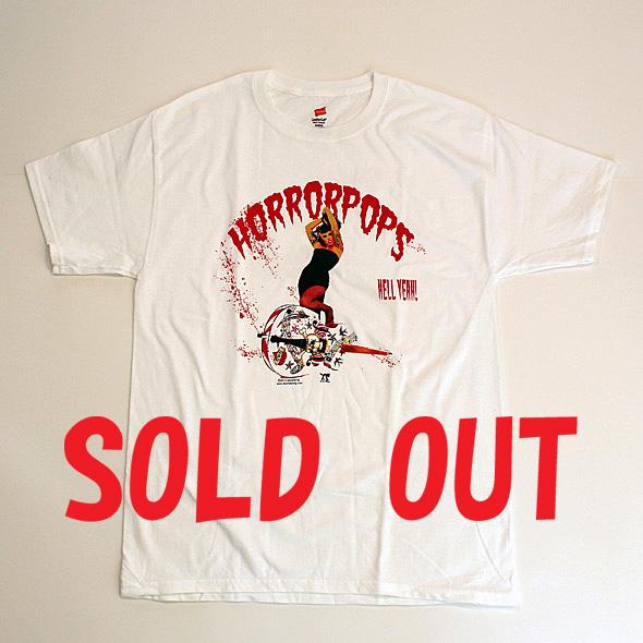 ロックTシャツ/HORROR POPS(ALBUM COVER)/ホラーポップス(アルバムカバー)RCT121102